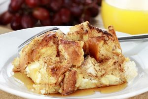 Fall Recipe: Ciabatta French Toast with Warm Apple Maple Syrup
